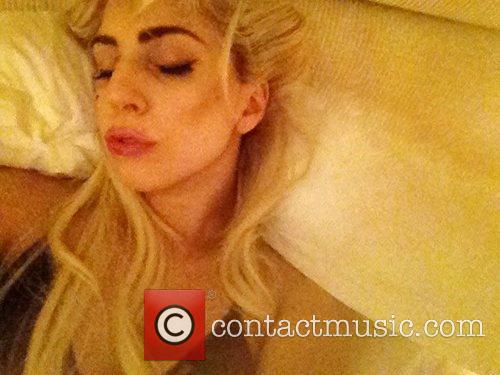 Lady Gaga posted this picture on her twitter...