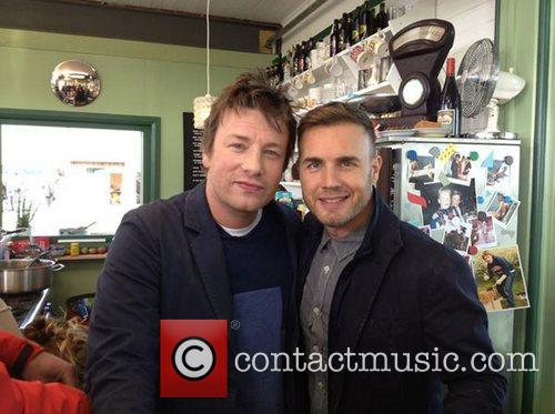 Gary Barlow posted this image of himself with...
