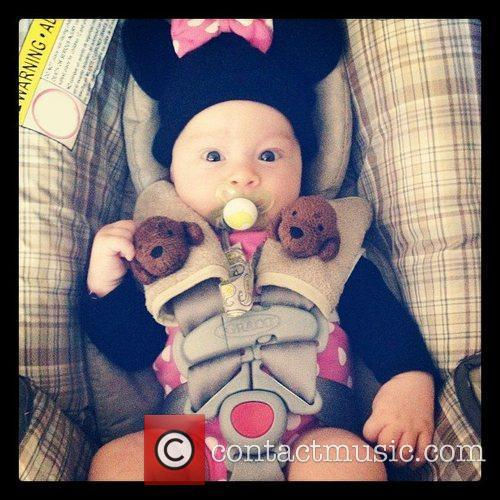 Jack Osbourne posted this image of his daughter...