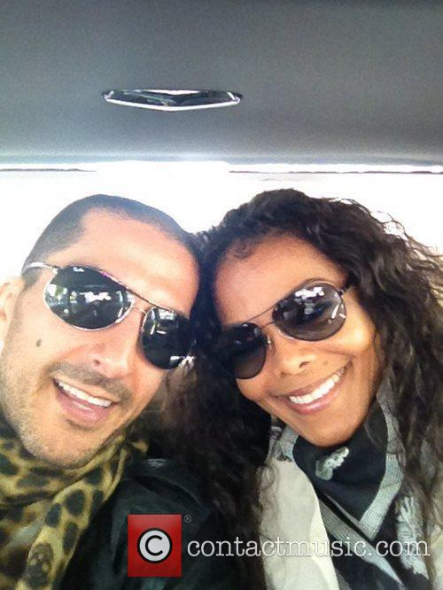 Janet Jackson post this image of herself and...