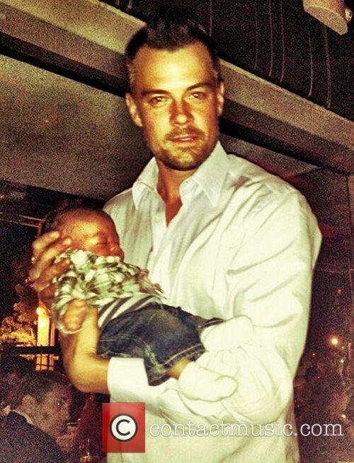Josh Duhamel and Godfather 1