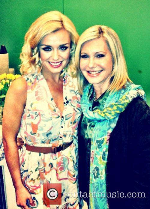 DWTS contestant Katherine Jenkins tweet this pic with...