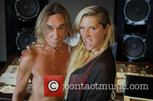 Kesha and Iggy Pop