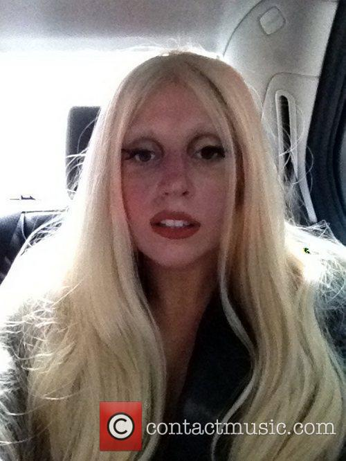 Lady Gaga tweets this pic with the following...