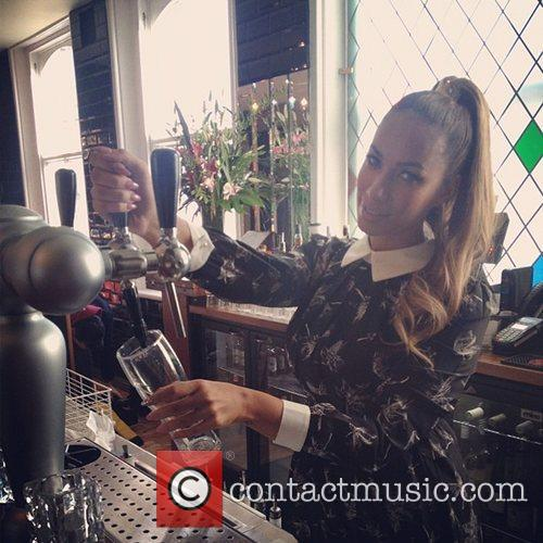 Leona Lewis posted this image to Instagram with...