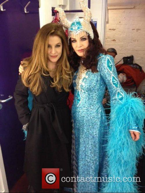 Lisa Marie Presley  posted this photo on...