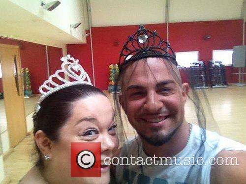 Lisa Riley posted this image on Twitter with...