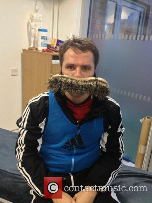 It's Ian Brush! Former Liverpool striker Michael Owen...