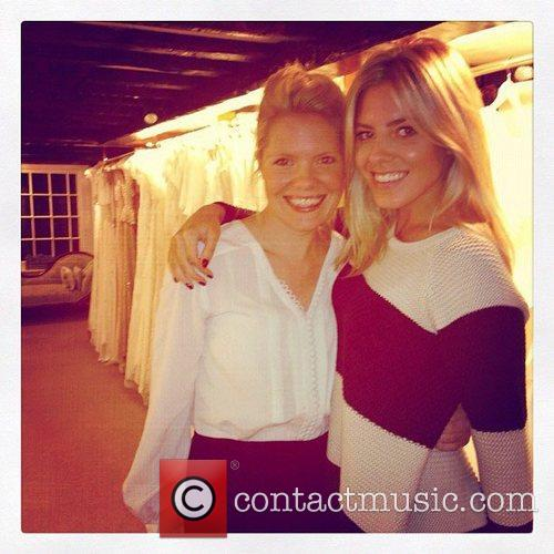 Mollie King posted this image on twitter with...