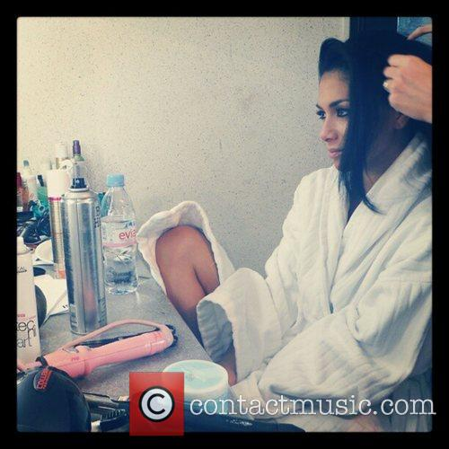 Nicole Scherzinger posted this image to Instagram with...