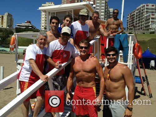 David Hasselhoff, Twitter, Hanging, Mar Del Plata and Beautiful 1