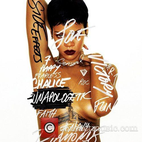 Rihanna posted this image to Instagram with the...