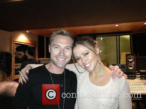Ronan Keating posted this image of himself and...