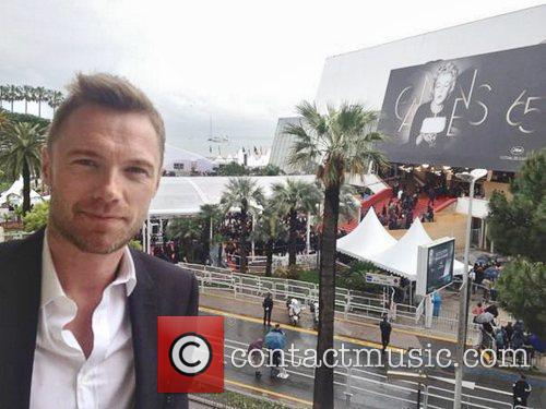 Ronan Keating posted this photo on Twitter with...