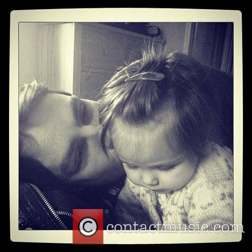 Una Healy, Ben Foden, Daughter, Aoife, Instagram, Father and X 4