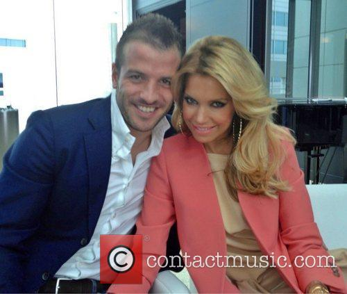 Rafael Van Der Vaart, And Wife Sylvie