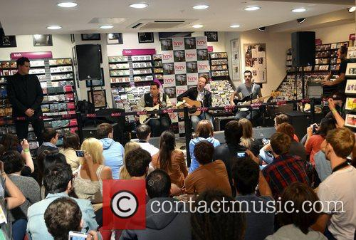 Two Door Cinema Club play live acoustic and...