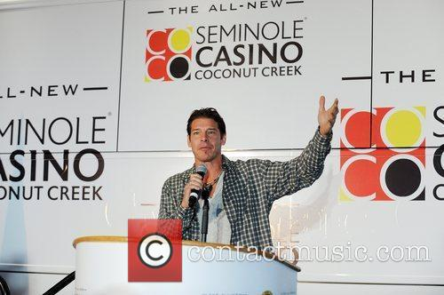 Ty Pennington 'Moves That Bus' to celebrate the...