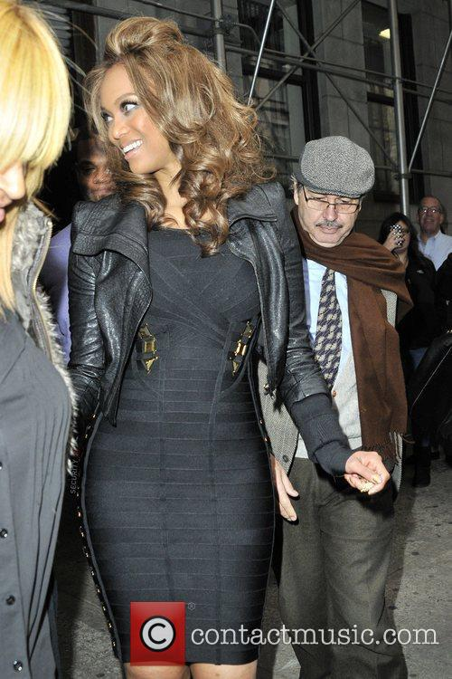 tyra banks seen departing the chelsea television 5952658