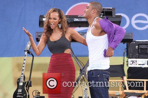 Tyra Banks and Central Park 9