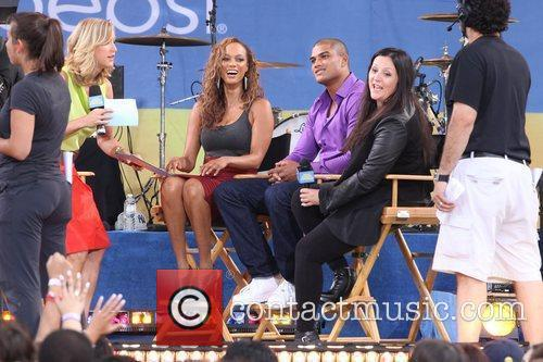 Tyra Banks, Kelly Cutrone and Central Park 3