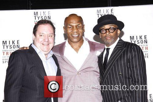 Mike Tyson and Spike Lee 4