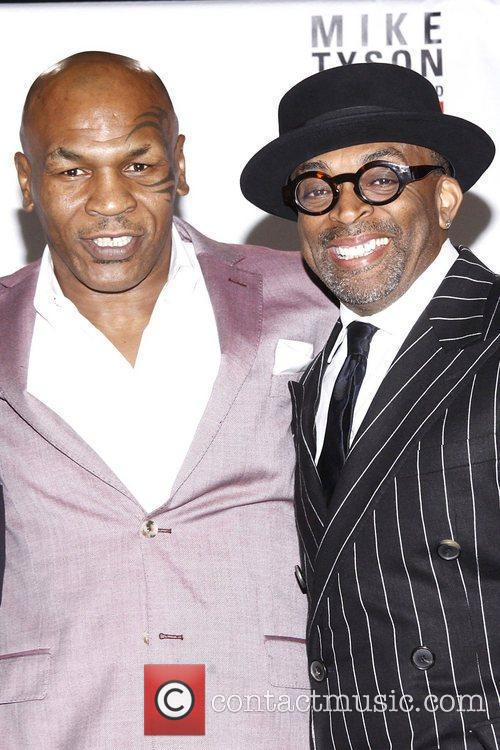 Mike Tyson and Spike Lee 6