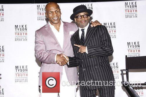 Mike Tyson and Spike Lee 7