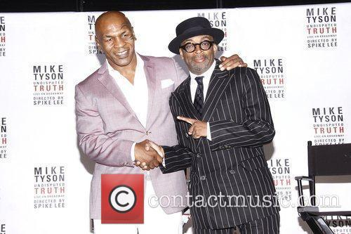 Mike Tyson and Spike Lee 8
