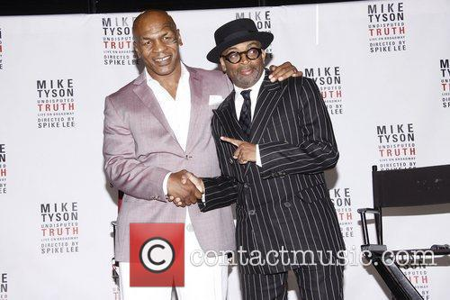 Mike Tyson and Spike Lee 9