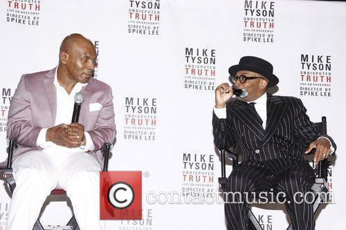 Mike Tyson and Spike Lee 10