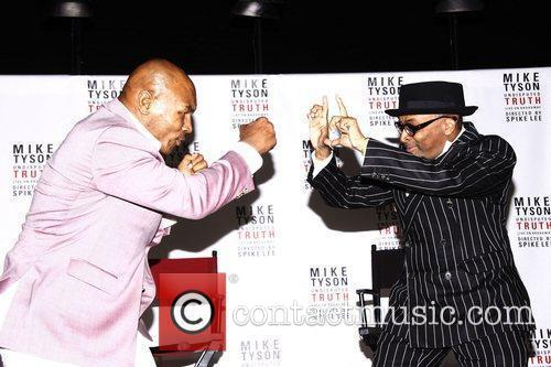 Mike Tyson and Spike Lee 11
