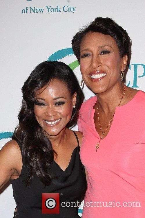 Robin Givens and Robin Roberts 2