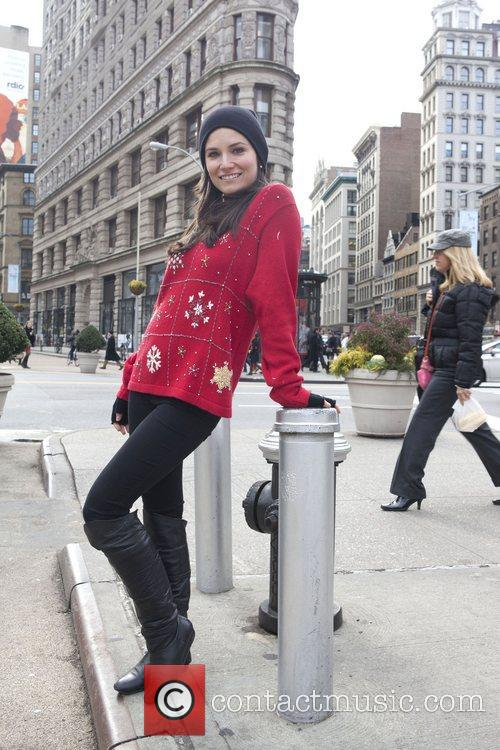 Megan Ugly Christmas Sweater Contest held in Gramercy...