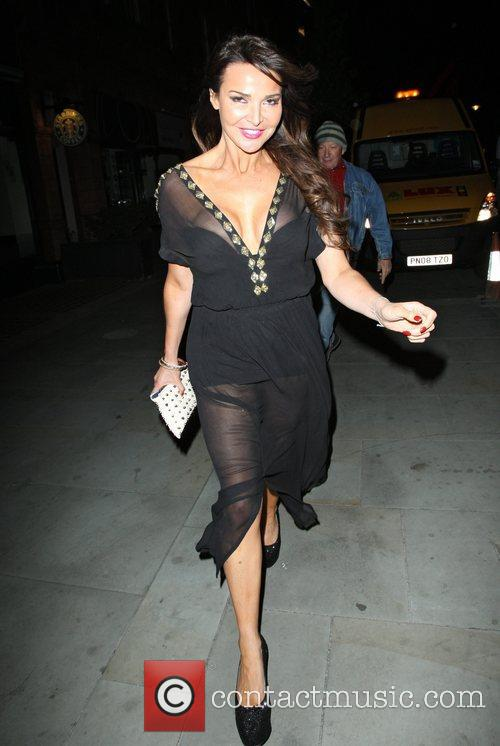 lizzie cundy leaving the uk lingerie awards 4088939