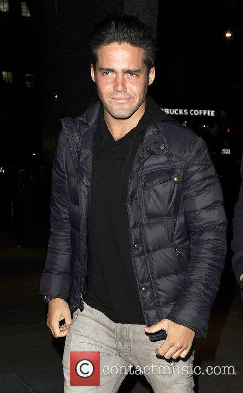 Made In Chelsea Star Spencer Matthews arriving at...