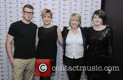 Fern Britton and family  at Centre Point's...