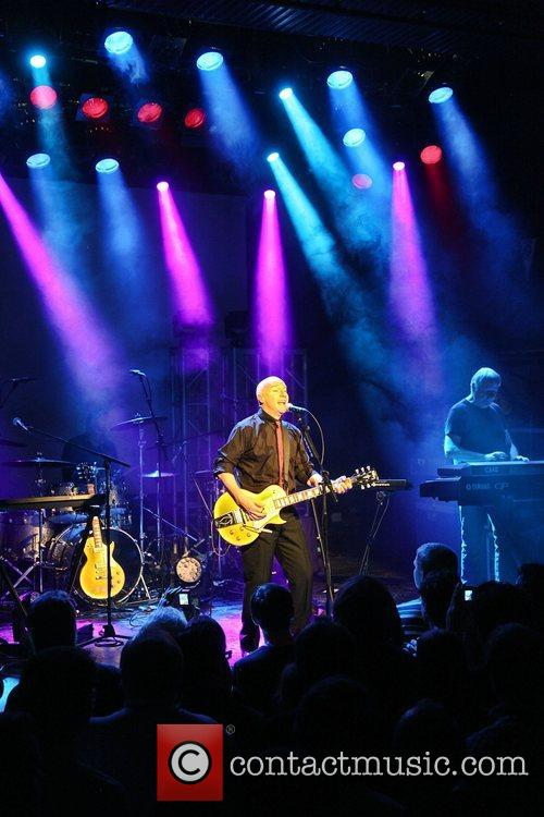 Midge Ure of Ultravox performing at Tavastia Club...