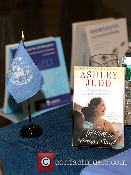 Ashley Judd at her Book Signing and Conversation...