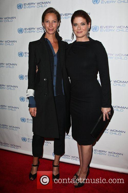 Christy Turlington and Debra Messing 1