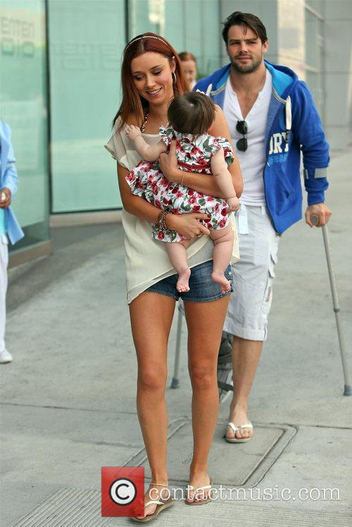 Una Healy of The Saturdays spends her 31st...