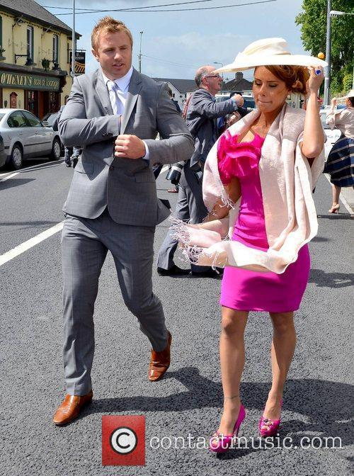 the wedding of una healy and ben foden held at the church