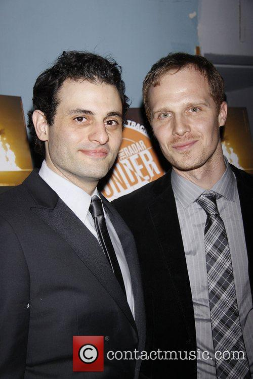 Arian Moayed and Tom Ridgley The Public Theater...