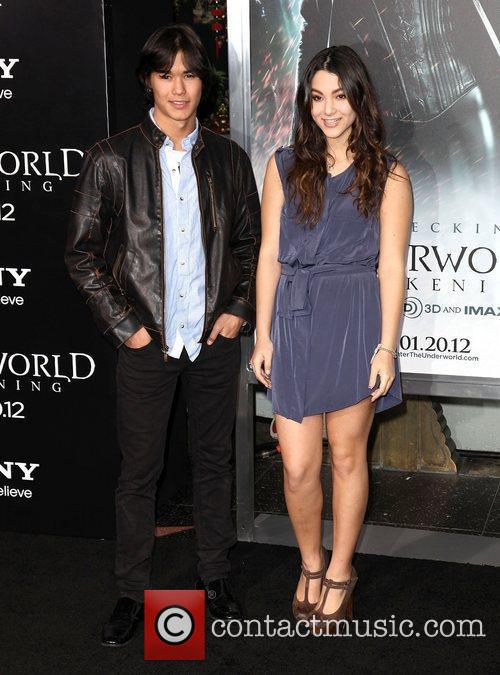 Booboo Stewart and Fivel Stewart Premiere of Screen...