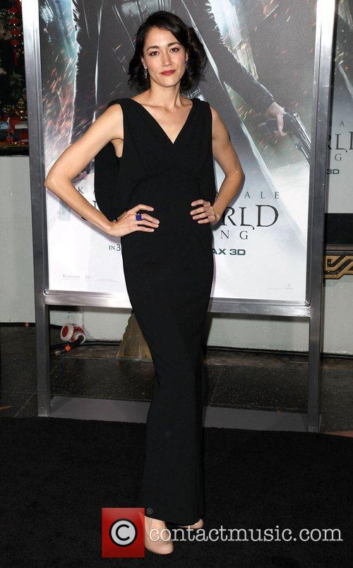 Sandrine Holt and Grauman's Chinese Theatre 7