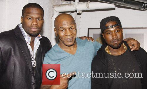 50 Cent, Kanye West, Mike Tyson