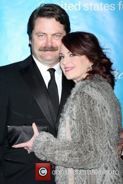 Megan Mullally and Nick Offerman 3