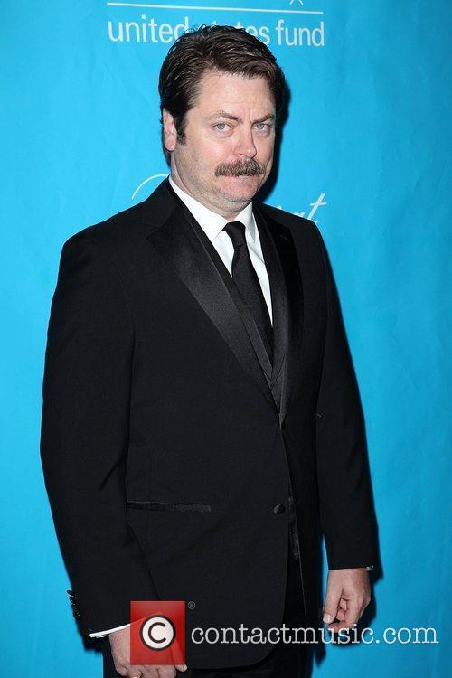nick offerman the 2011 unicef ball at 3649119