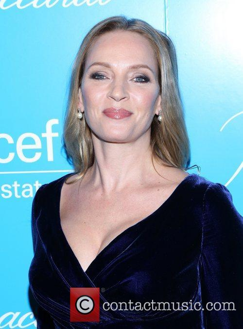 Uma Thurman and Unicef Snowflake Ball 1