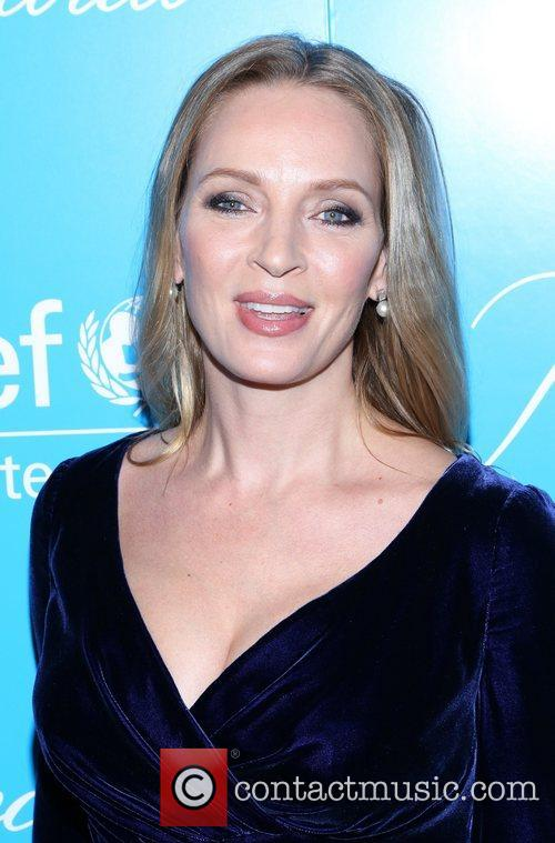 Uma Thurman and Unicef Snowflake Ball 3